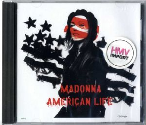 AMERICAN LIFE - USA CD MAXI SINGLE (16658-2)